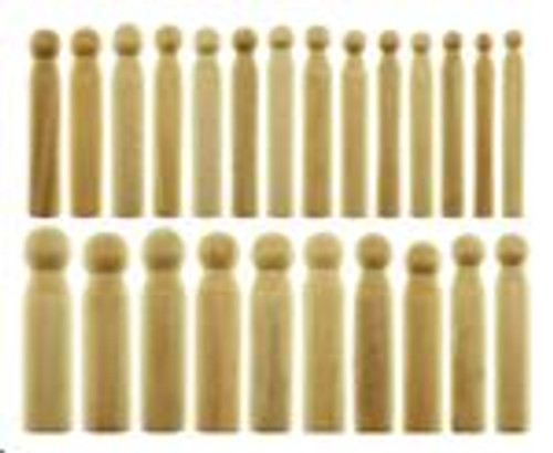 24 Piece Wooden Dapping Punch Set