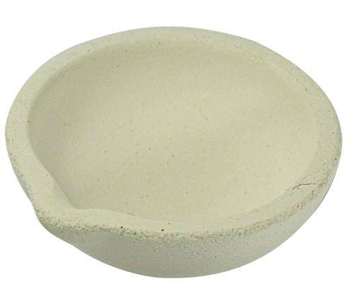 """3"""" Alumina Ceramic Pot"""