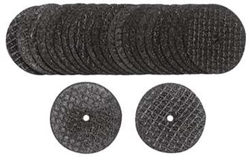 """100 Piece Cut-Off Wheels 1 1/4"""" with 3/32"""" Center Hole"""