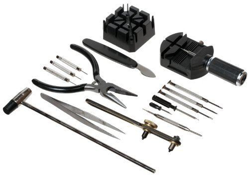 16PC Watch Repair Kit Black
