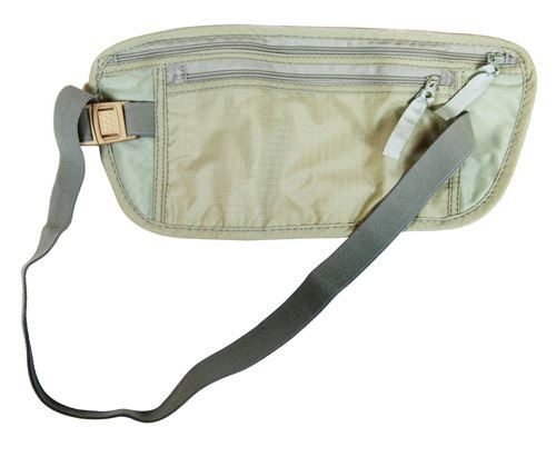 Travel Pouch With Dual Zippers