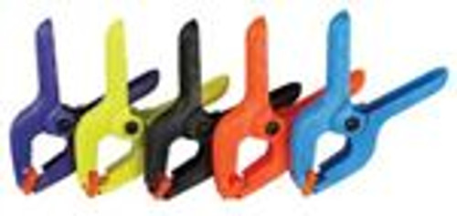 "30Pc Neon Colored  2"" Spring Clamp"
