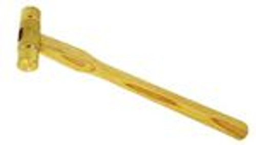 "9 1/2"" 2.5oz Brass Head Hammer Gunsmithing Hammer"