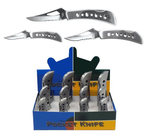 12 Piece Serrated Knife Display Fold Ups Promo Items