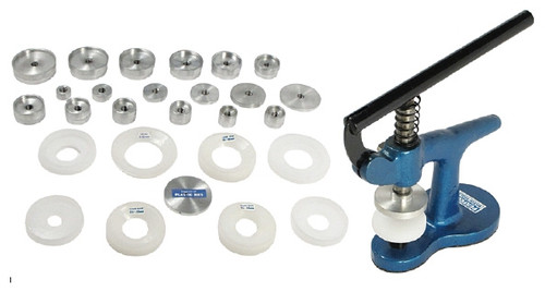 Glass and Back Fitting Machine Essential Tool for Watchmakers for fitting Watch Casement Backs