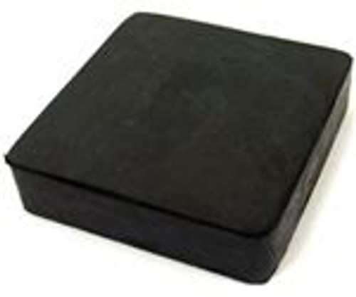 "Rubber Bench Block 4"" x 4"" x 3/4"""