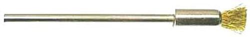 "6 MM Mini Pencil Type Brush, 1/4"" Brass"