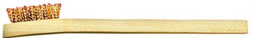 Brass Wire Brush Wooden Handle