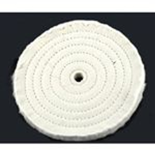 "4"" White Buffing Wheel"