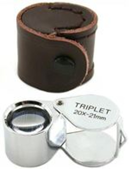 20X Triplet Jewelrs Loupe 21mm Lens