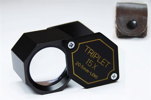 15X Triplet 20.5mm Loupe