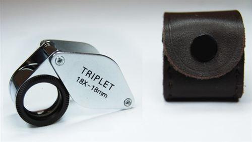 18X Loupe Triplet 18mm Lens