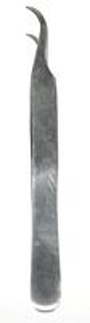 Tweezers  Curved Tip