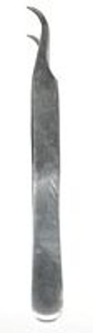Tweezers  Curved Tip