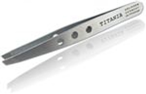 German Professional Flat Square Tip Tweezers Eye Brow