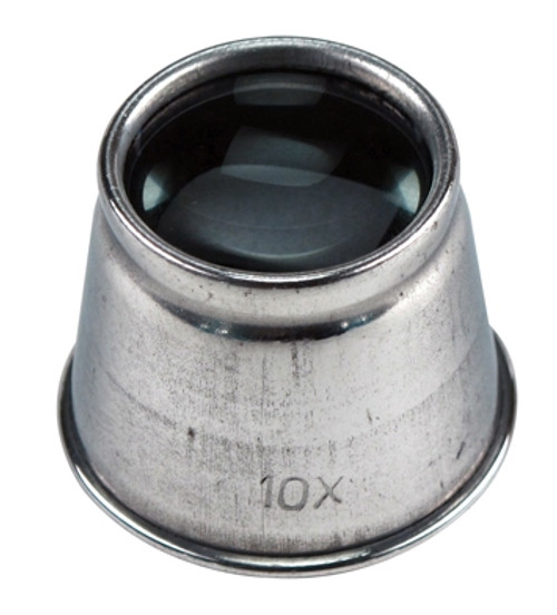 Aluminum 10X Loupe