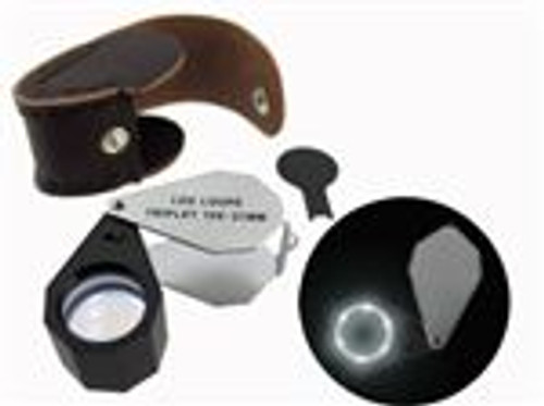 1OX21mm Triplet Lens Led Lighted Loupe