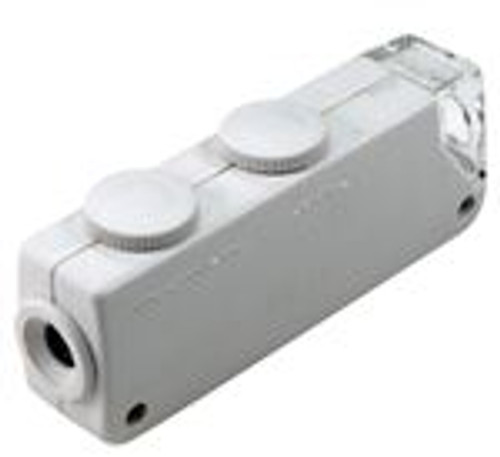 Mini Pocket Microscope 60x -100x White Color