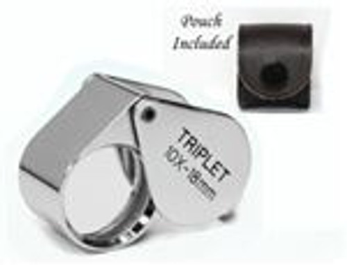 Utopia Tool's Professional Quality Loupe 10X 18 mm Triplet