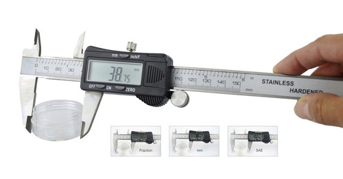 Fractional 3 Way Digital Caliper