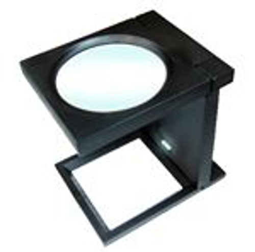 5X Folding Magnifier With Led Illumination