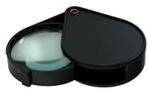 """4X Magnifier Magnifying Glass Fold-Out 2 1/2"""""""