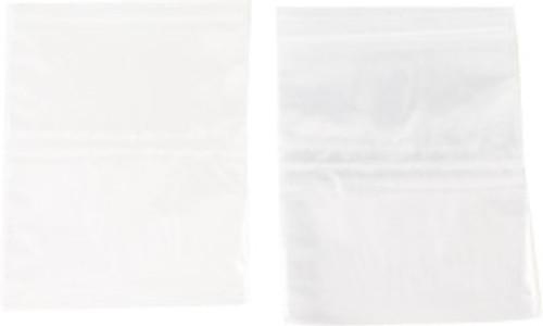 "Zipper Self Locking Bags 5""X5"" 100pc 4mm"