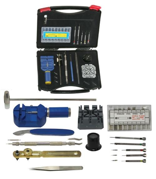 Utopia Tool's Deluxe Watch Repair Kit 20PC
