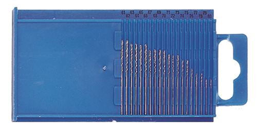 61-80 Diamond Micro-Drill Bit Set Size 0.3-1.6mm
