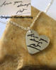 Heart Handwriting Necklace