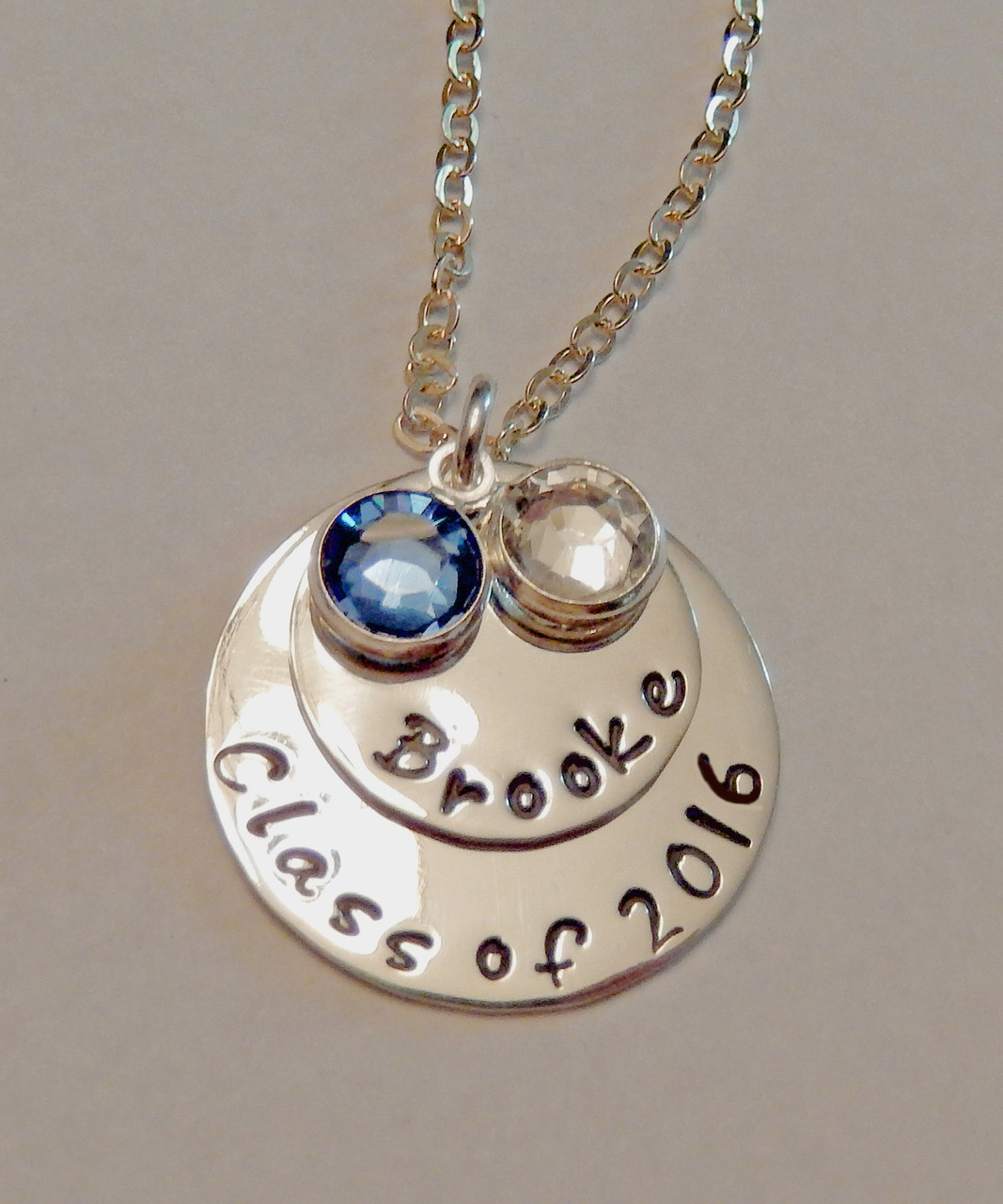 8525c8ea1d576 Class of 2018 Graduation Necklace Personalized with Name