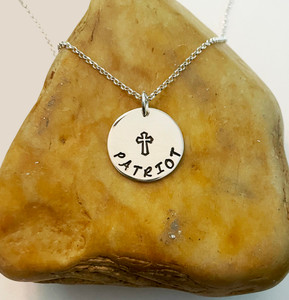 PATRIOT Necklace with Cross