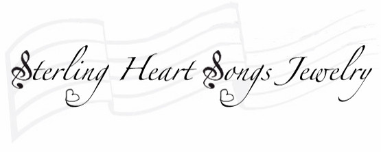 Sterling Heart Songs Jewelry