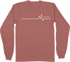 Heartbeat Long Sleeve Tee | Angel Baby Mile