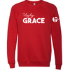 F5 Project Ugly Grace Crewneck - Red