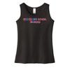 Black Conquer Ninja Gym Girls Youth Tank