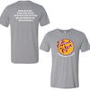 Grey Triblend Heart-n- Soul Community Cafe   Front Chest Logo Tee