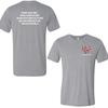 Grey Triblend Heart-n- Soul Community Cafe | Left Chest Logo Tee