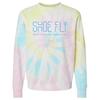 Shoe Fly   Tie Dye Crewneck