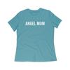 Angel Mom Crewneck Tee