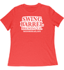 Red Frost  Swing Barrel Brewing Company Ladies Crewneck