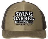 Lodan/White Swing Barrel Brewing Company Snapback Baseball Hat