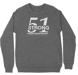 51 Strong Pullover Hoodie