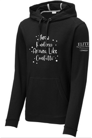 """Rebecca Quotes Hoodie """"Throw Kindness Around Like Confetti"""""""
