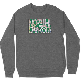 Soft Grey Triblend ND State Sweatshirt
