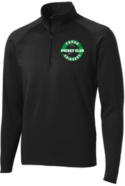 Fargo Grinders Men's 1/2-Zip Pullover - Black