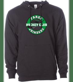 Fargo Grinders Black Unisex Soft Hoodie