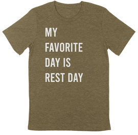 Rest Day Massage Unisex Tee
