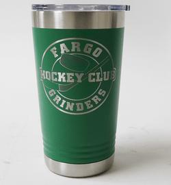 Fargo Grinders Coffee Tumbler Kelly Green