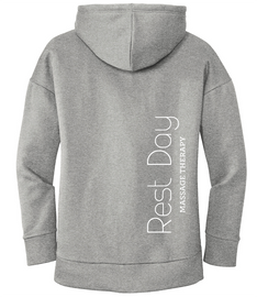 Rest Day Massage Ladies Drop Shoulder Hoodie